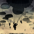 Parachutes B of Bthumb