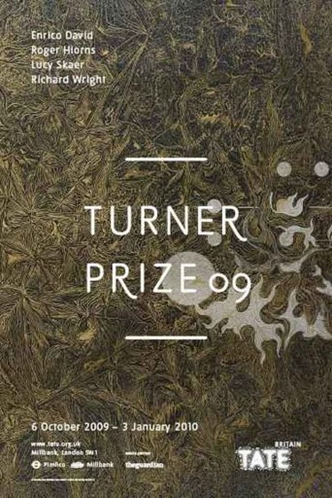 richard wright turner prize poster
