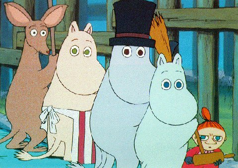 moomin cartoon