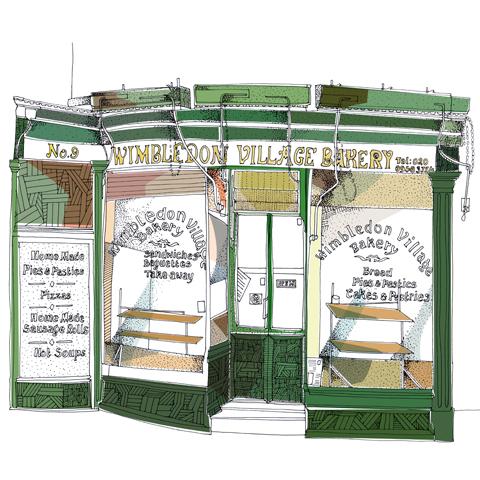wimbledon village bakery.lush