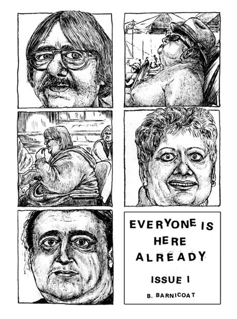 Everyone is here zine