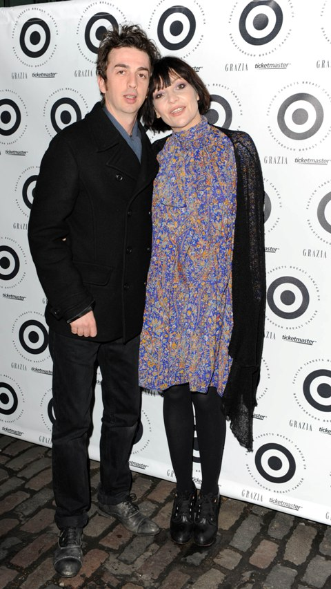 Pearl Lowe & Danny Goffey Step & Repeat