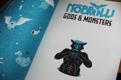 Nobrow No.1 Gods & Monsters