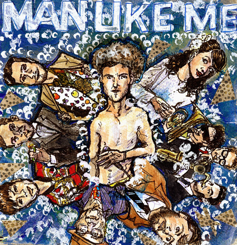Man Like Me illustration by Jenny Robbins