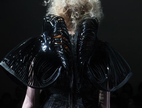 Iris Van Herpen. Photography by Amelia Gregory