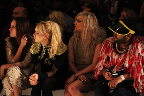 Peaches Geldof at Pam Hogg