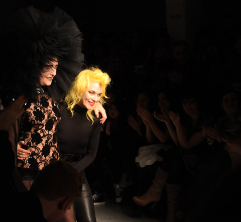 Siouxie Soux and Pam Hogg