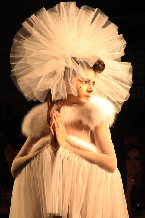 Sophie Willing at Pam Hogg