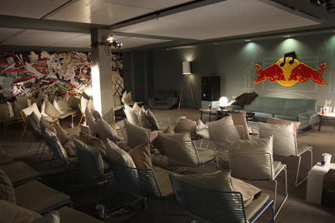Red Bull Music Academy lecture theatre.