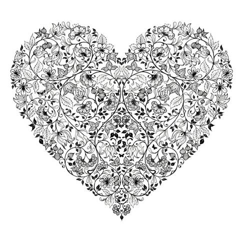 Johanna Basford_Heartbreak