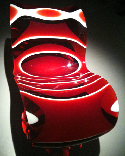 Ron Arad red white chair