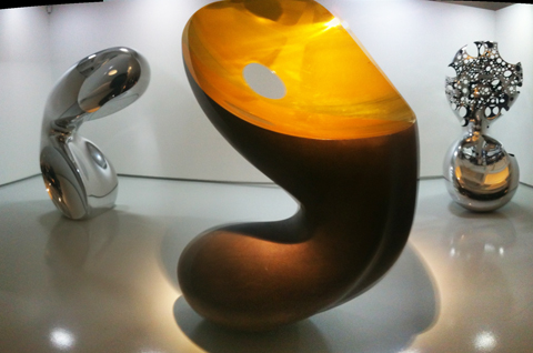 Ron Arad sculptures