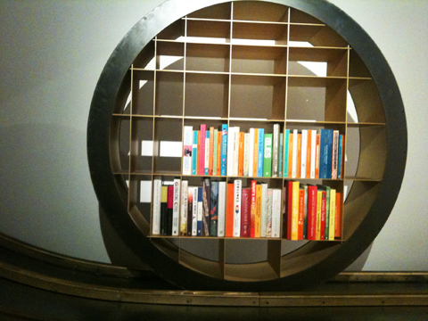 Ron Arad wheel bookshelf