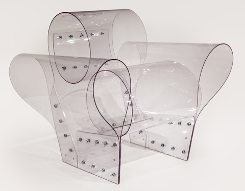 Ron Arad. Well Transparent Chair
