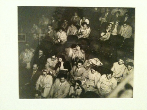 Tate Modern Exposed Weegee Palace Theatre 1940