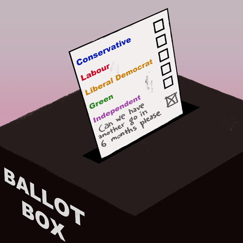 Ballot Box Colourbox