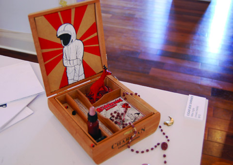mike inglis - cigar box shrine