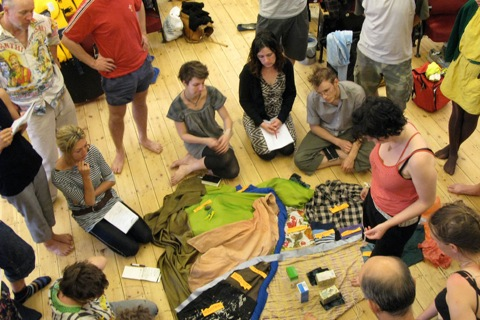 CRASH at Artsadmin: experimenting with sustainable alternatives to financial and ecological crises