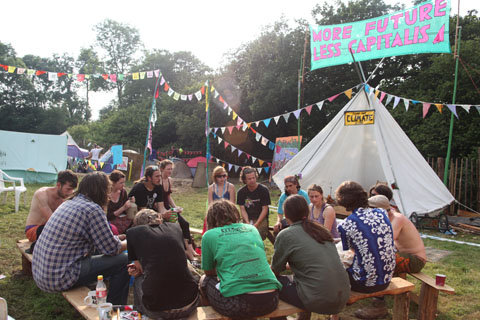 Glastonbury-June-2009-Climate Camp workshop
