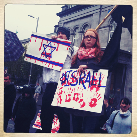 GKM Roadtrip Galway Gaza demo