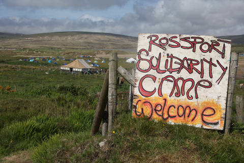 Rossport Solidarity Camp by Amelia Gregory