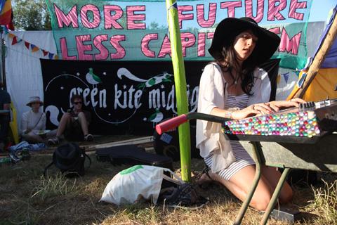 Glastonbury 2010 Climate Camp My Luminaries