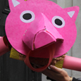 Piggy Pinata RBS UK Tar Sands Network
