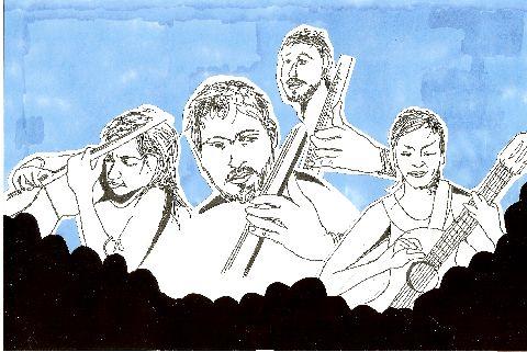 Rodrigo y Gabriela by Sine Skau