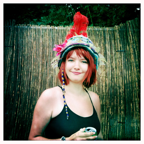 SGP 2010- headdress by Amelia Gregory