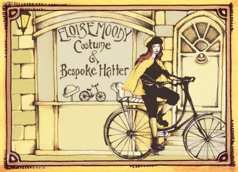 Abi Daker - Eloise Moody - bikes