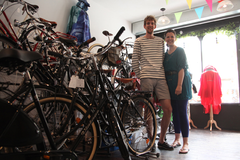Bobbin Bicycles tom and sian