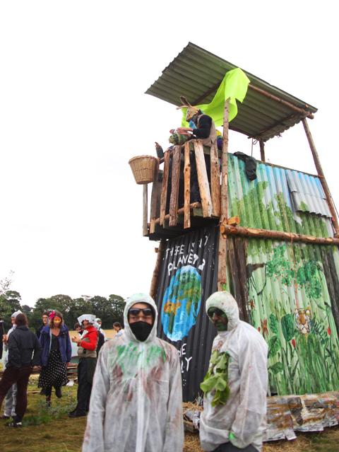 Climate Camp 2010-Seige Rhino
