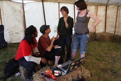 Climate Camp 2010-media team