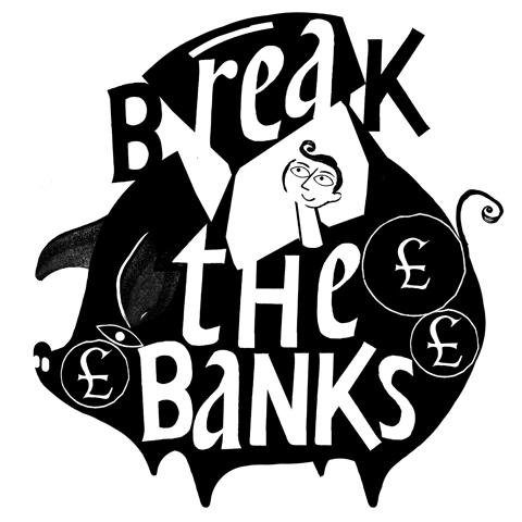 Climate Camp Break the Banks Lesley Barnes