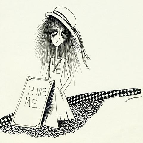 Hire me by Joana Faria