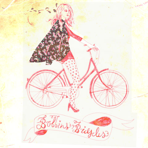 Natasha-Thompson-Bobbins-Bicycles-Girl-Cape-Illustration