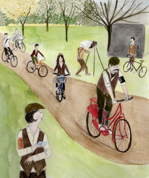 Tweed Run by Emma Raby