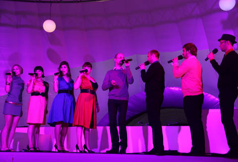 Vintage Goodwood Swingle Singers