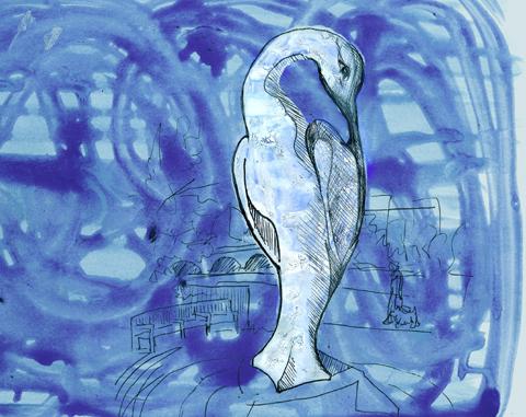amelia's magazine - hyde park sculpture - Simon Gudgeon Isis - jenny robins