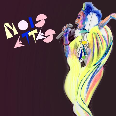 noisettes-singer-by-anagomezhernandez