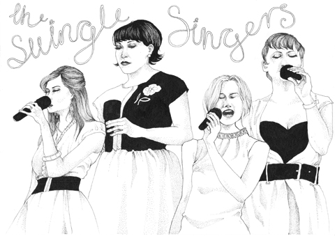 swingle singers by anna hancock young