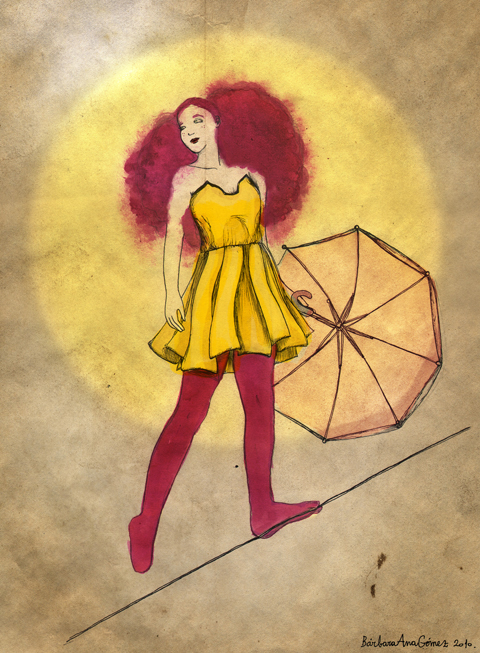 FADAwards-the tightrope walker-Florence Melrose by-Barbara-Ana-G