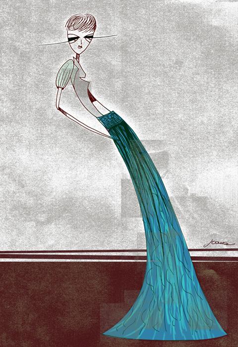 Romina Karamanea skirt by Joana Faria