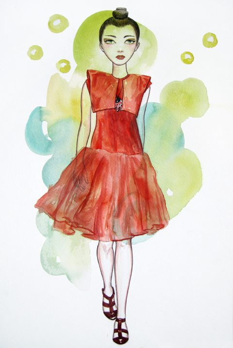 Lako Bukia fashion illustrations
