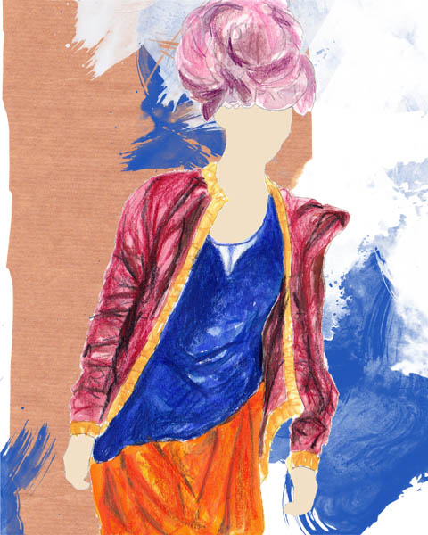 LFW Swedish Textiles Emelie Johansson KAYLEIGH BLUCK