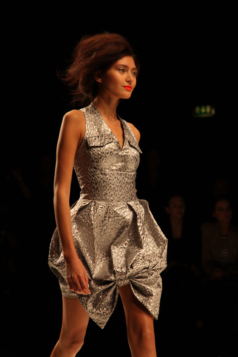 Paul Costelloe S/S 2011 LFW photo by Amelia Gregory