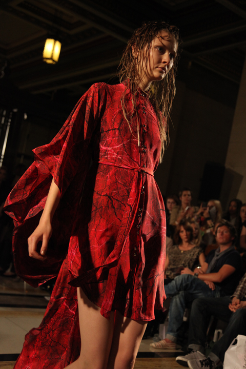 Romina Karamanea SS2011 photo by Amelia Gregory