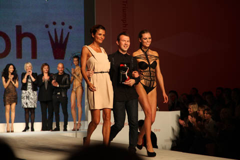Triumph Inspiration Award 2010 winner Nikolay Bojilov of Bulgaria