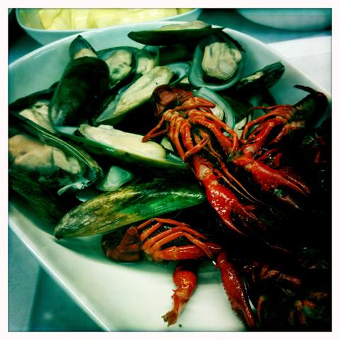 Denmark Seven Seas buffet crabs dana sirena