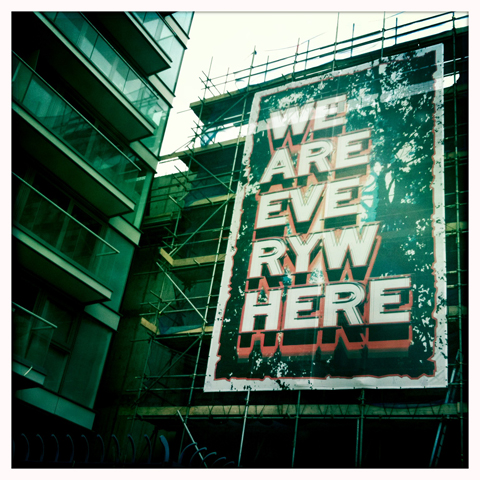 Deptford X Festival Mark Titchner We Are Everywhere